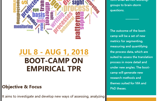 Boot-camp on empirical TPR COMING SOON!
